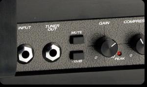 Complex amp input